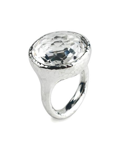 Lollipop Quartz Ring