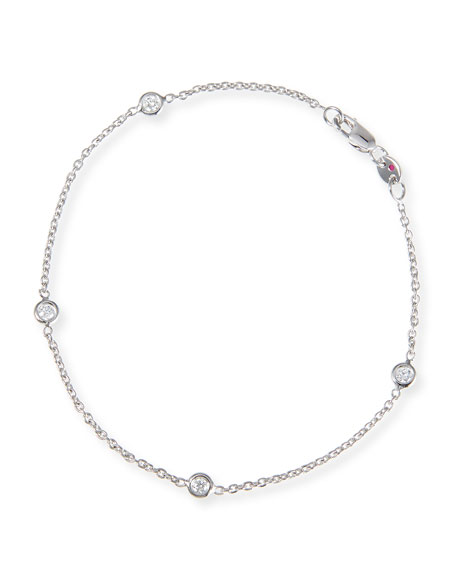 Exclusive Tiny Treasure Diamond Station Bracelet