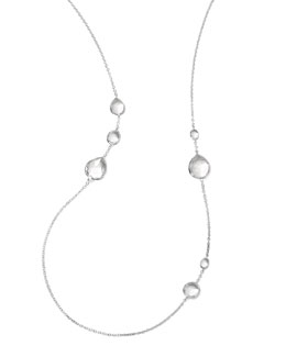 "Ippolita Wonderland Quartz Necklace, 33""L"