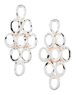 Ippolita Silver Open Cascade Post Earrings