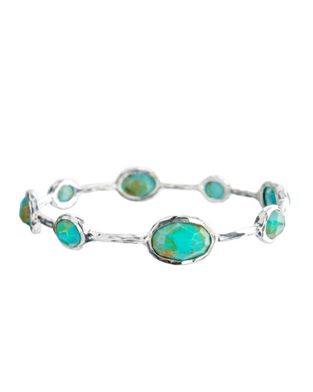 ROCK CANDY 8 STONE BANGLE