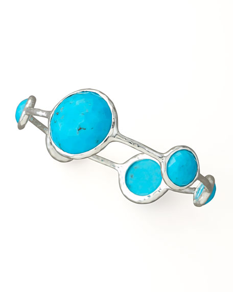 Turquoise Lollipop Bangle, Large
