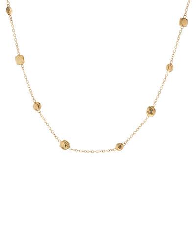 Glamazon Gold-Station Necklace
