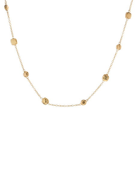 Glamazon Gold-Station Necklace