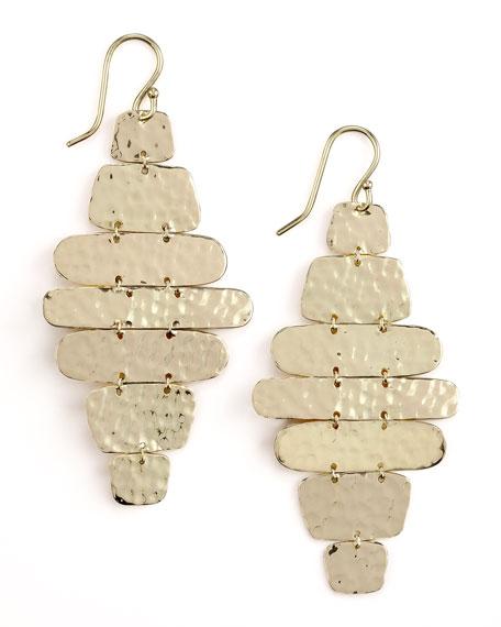 Hammered Cascade Earrings