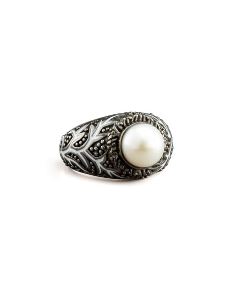 Vine Pattern Ring