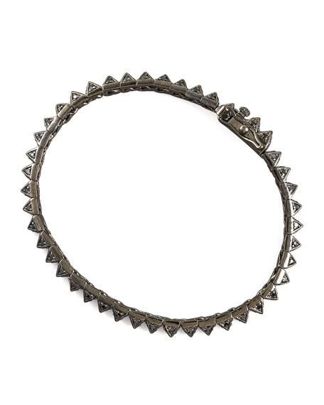 Pave Pyramid Tennis Bracelet