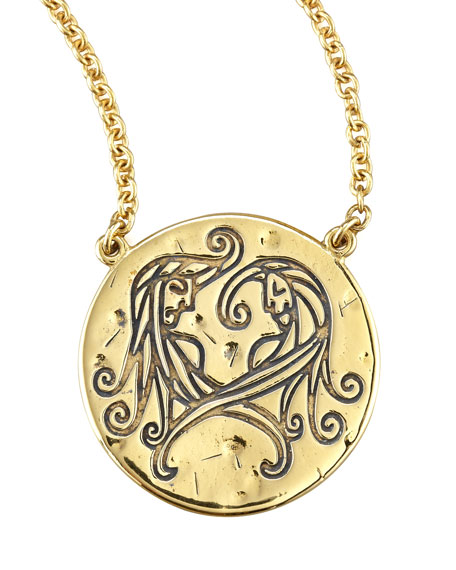 Astrology Necklace, Gemini