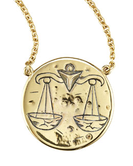 Astrology Necklace, Libra