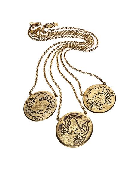Astrology Necklace, Scorpio