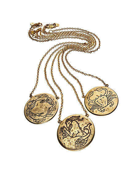 Astrology Necklace, Aquarius
