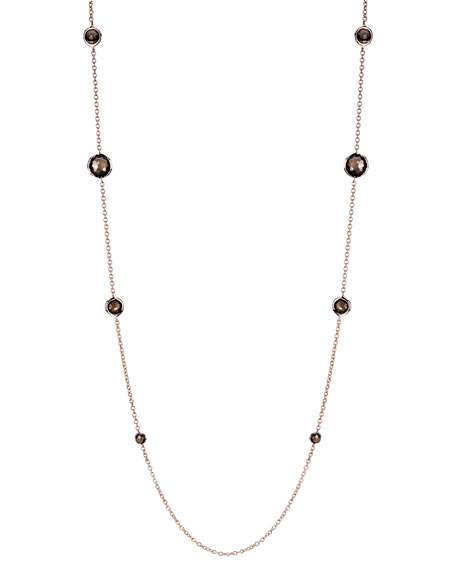 Smoky Quartz By-the-Yard Necklace
