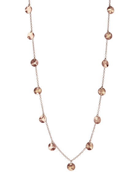 Rose Paillette Necklace