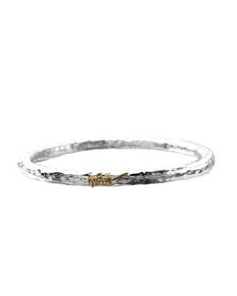 Glamazon Bangle, Sterling Silver
