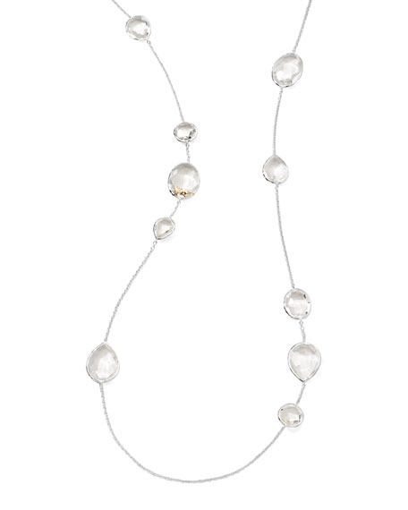 Paparazzi Clear Quartz Station Necklace
