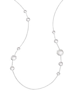 Ippolita Clear Quartz Station Necklace