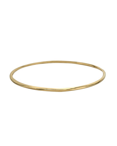 Thin Glamazon Bangle, Gold