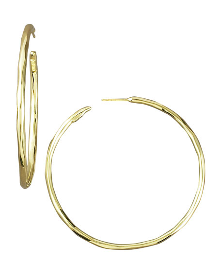 Thin Glamazon Hoop Earrings, Medium