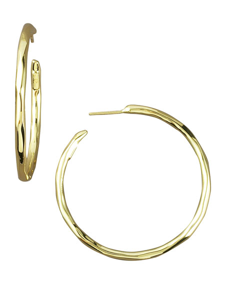 Thin Glamazon Hoop Earrings, Small