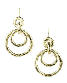 Ippolita Glamazon Jet-Set Earrings, Mini