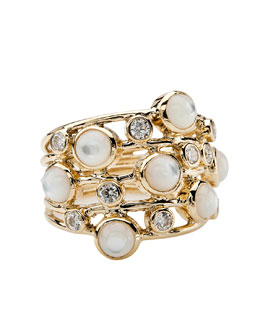 Ippolita Diamond & Mother-of-Pearl Ring
