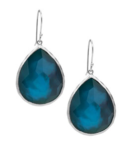 Ippolita Wonderland Teardrop Earrings, Blue