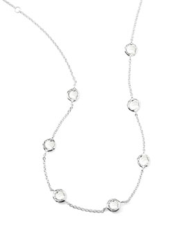 "Ippolita Quartz Station Necklace, 18""L"