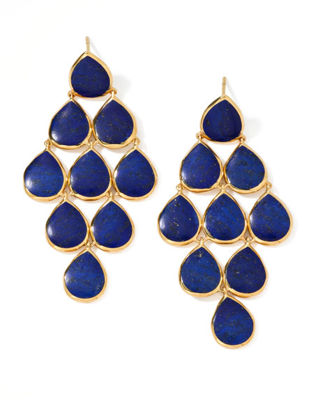 Lapis Cascade Earrings