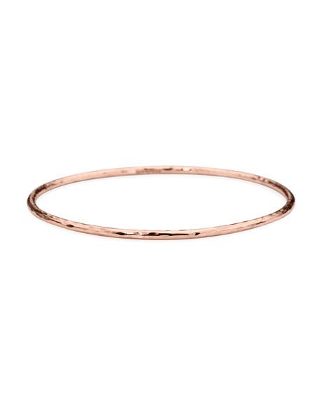 Hammered Rose Bracelet