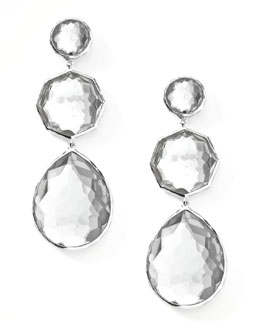 Ippolita Clear Quartz Crazy-Eight Earrings