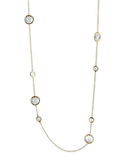 Ippolita Clear Quartz Lollipop Necklace, 36""