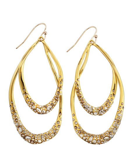 Orbiting Drop Earrings