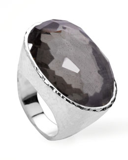 Ippolita Wonderland Oval Ring, Pyrite
