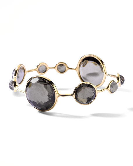 Round Pyrite-Station Lollipop Bangle