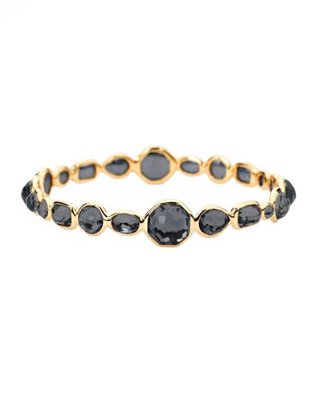 Gold Gelato Bangle, Hematite