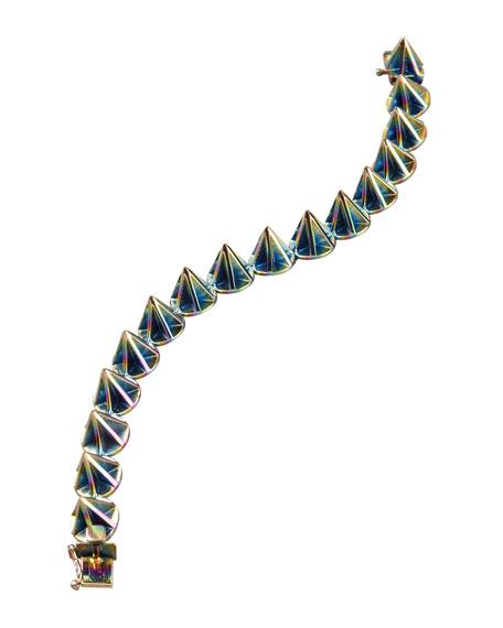 Pink Lotus Cone Bracelet