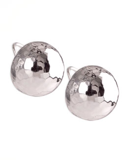 Ippolita Glamazon Silver Clip Earrings, Small