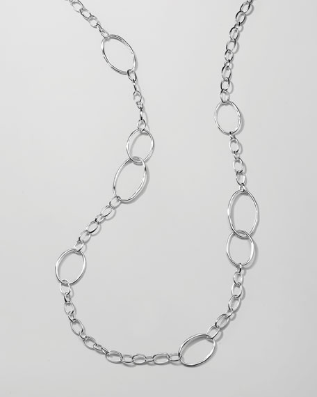 "Scultura Chain Necklace, 45""L"