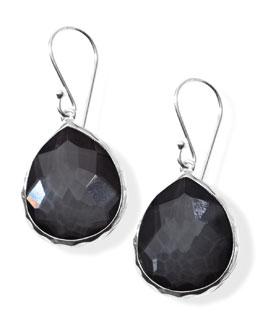 Teardrop Earrings, Hematite