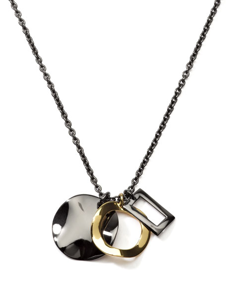 Notte Triple-Pendant Necklace