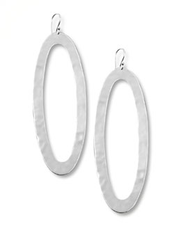 Ippolita Silver Oval-Drop Earrings