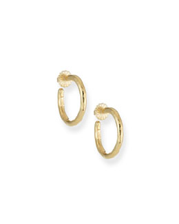 Ippolita Glamazon Yellow Gold Hoop Earrings