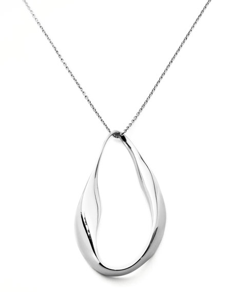 Venezia Pear-Shaped Pendant Necklace