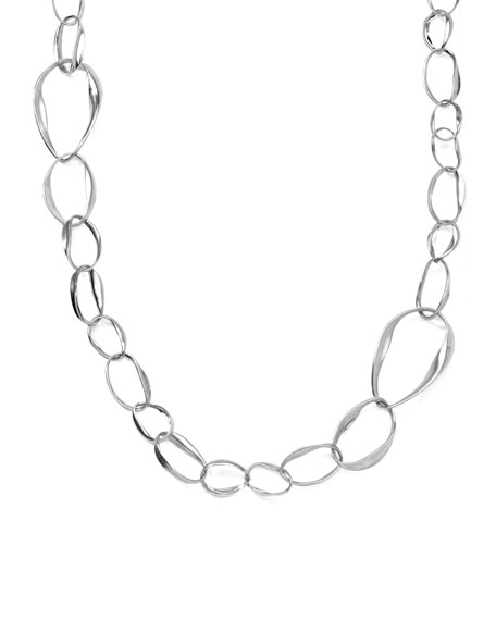 Venezia Pear-Link Chain Necklace