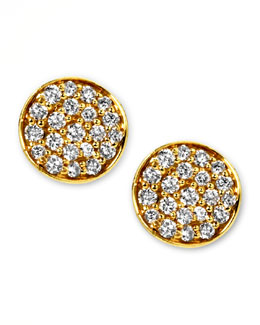 Ippolita Stardust Mini Diamond Stud Earrings