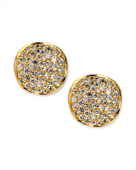 Stardust Diamond Stud Earrings