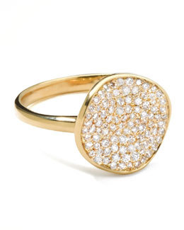 Stardust Diamond Disc Ring