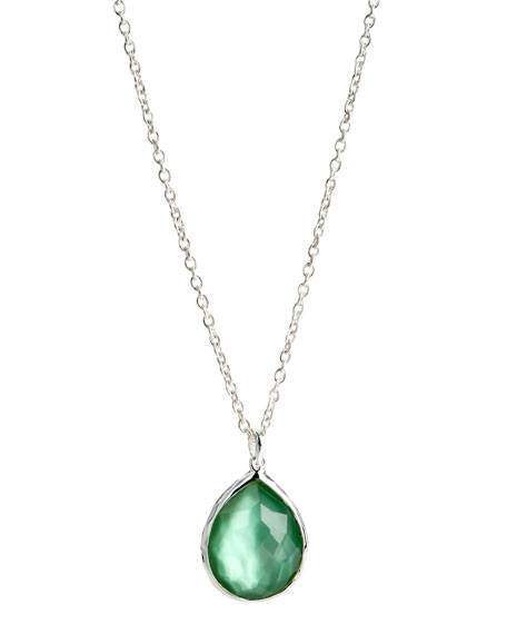 Teardrop Pendant Necklace, Medium