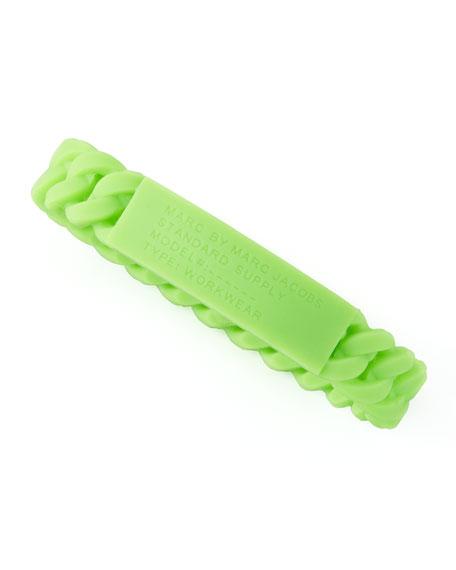 Rubber Standard Supply Bracelet, Toucan Green