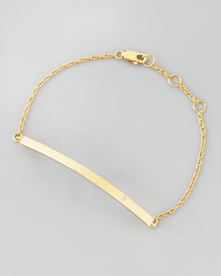 Bar-Pendant Bracelet